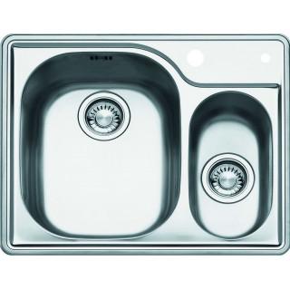Kuchyňský dřez Franke Compact CNX 660/2 101.0286.854