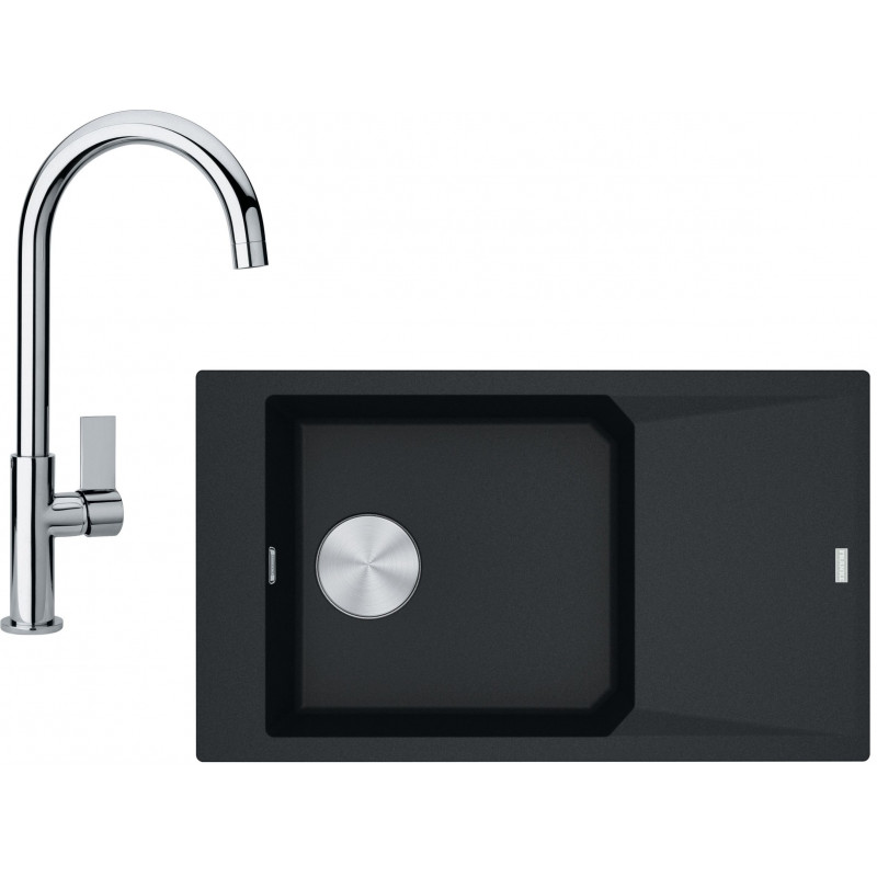 Kuchyňský set Franke G157 (dřez FXG 611-86 + baterie FP 0408.031) Onyx