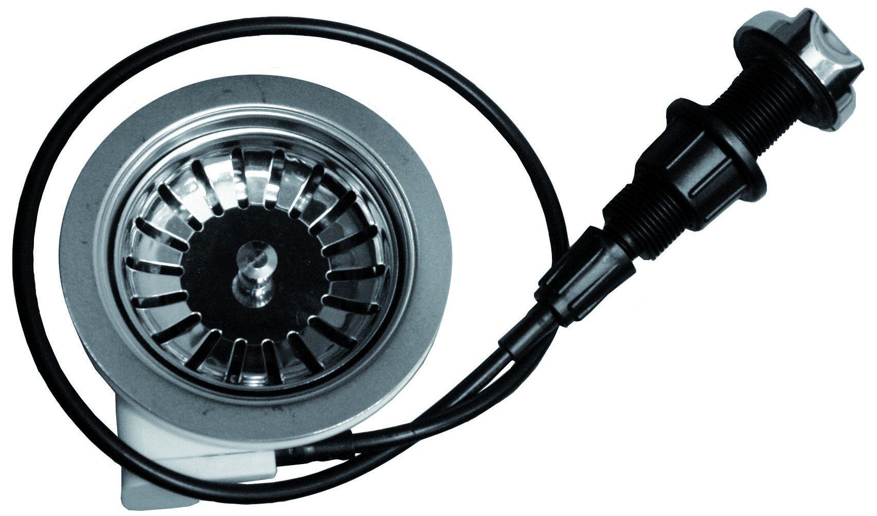 "Otočný sítkový ventil 3 1/2"" Franke 112.0304.621, chrom, kulatý knoflík, pro dřez MON 651 E"