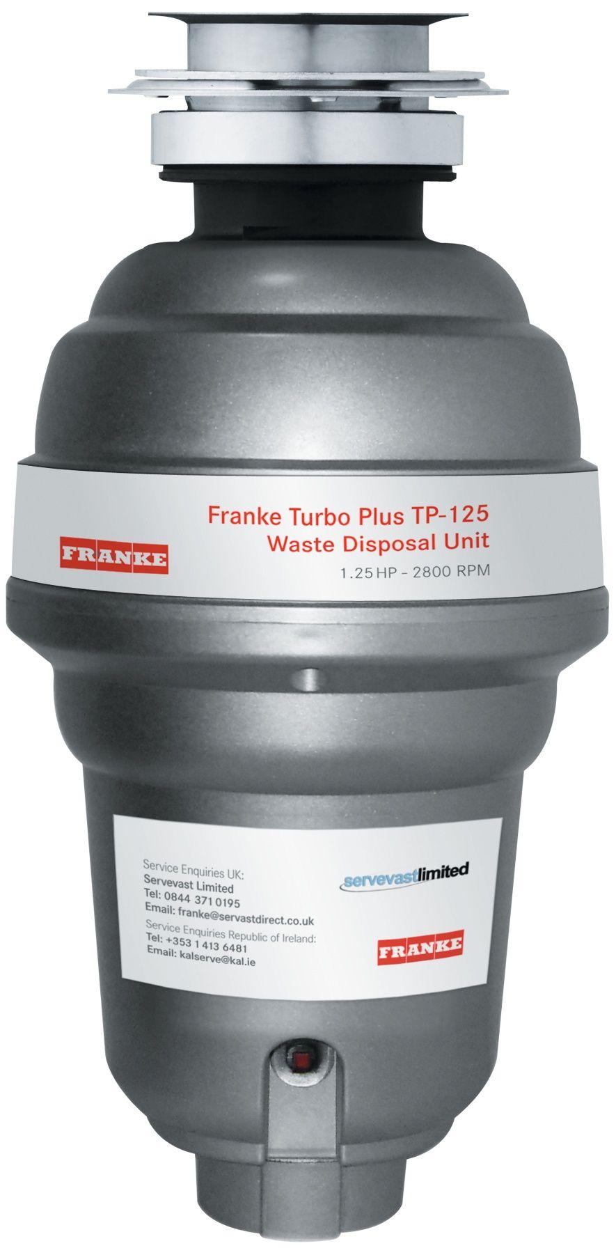 Drtič odpadu Franke Turbo Plus TP-125