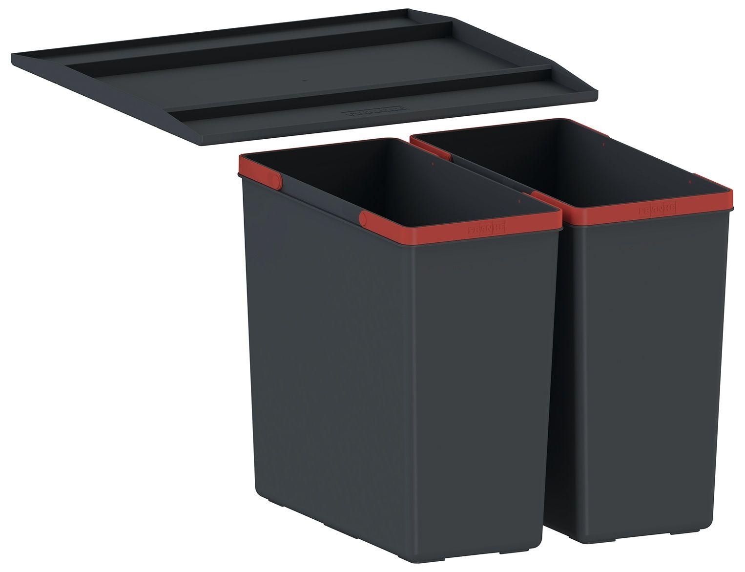 Odpadkový koš Franke Sorter EasySort 450-2-0, 2x 14,5 l